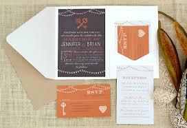 Pocket Invitations Pocket Wedding Invites Jeneze Designs