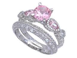 pink wedding rings 56 best rings and things images on promise rings