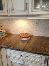 like simple stone backsplash in kitchen home sweetest home