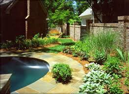landscaping around a pool with landscaping around a pool elegant