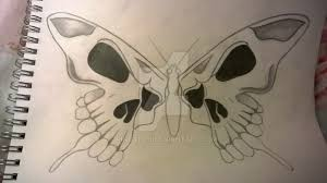 skull butterfly wings by rinoafan on deviantart