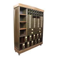 cole steel industrial metal file cabinet at 1stdibs