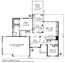 Craftsman Style Homes Floor Plans 73 Best Smaller Dream Homes Images On Pinterest House Floor