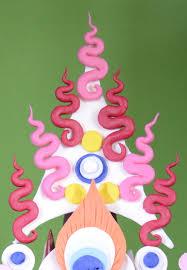 triangle butter ornament zur gsum dkar rgyan ཟ ར གས མ