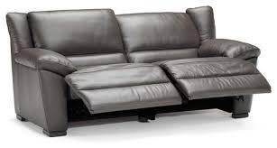 Leather Reclining Sofa Comfort And Luxury Leather Reclining Sofa Elegant Furniture Design
