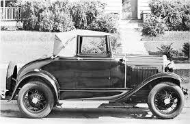 model a restorers club 1930 1931 open