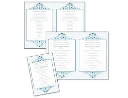 Sample Wedding Programs Templates Creative Wedding Ceremony Program Diy Templates