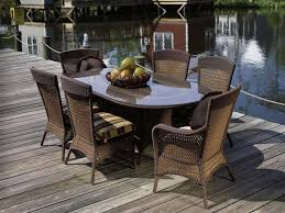 outdoor wicker dining table wicker outdoor dining sets for luxury house garden furniture design