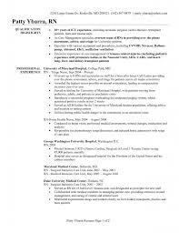 cover letter widescreen registered nurse resume objectives nursing