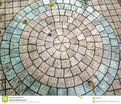 patterns and colors on the brick floor stock photo image 48086911