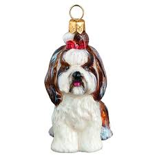 tzu sitting jtw ornament