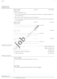 Resume Template Examples Free by Examples Of Resumes Best Photos Basic Resume Templates For Any