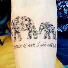 tattoos for beautiful elephant family tattoos getattoos us