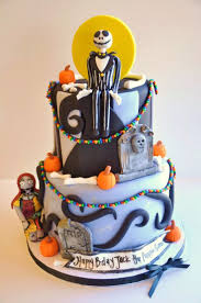 birthday halloween cake 30 best jack skellington cakes images on pinterest halloween