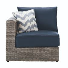 Home Depot Patio Furniture Replacement Cushions - home decorators collection naples all weather grey wicker left