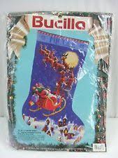 bucilla needlepoint kit to all a