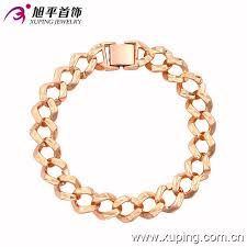 simple gold bracelet jewelry images Xuping fashion bracelet special simple design rose gold color jpg
