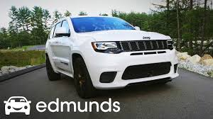 trackhawk jeep 2018 jeep grand cherokee trackhawk review test drive edmunds