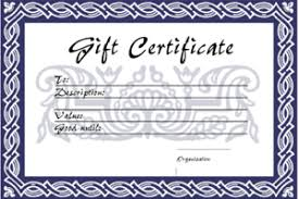 gift voucher templates free printable gift vouchers