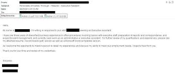resume attached email sample best wellness activities assistant