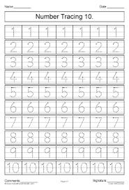 all worksheets number tracing worksheets 1 20 printable