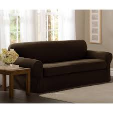 Loveseat Couch Covers Maytex Stretch Pixel 2 Piece Loveseat Slipcover Walmart Com