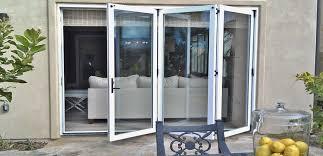 Folding Exterior Door Inspiring Exterior Accordion Doors With Bifold Doors And Folding