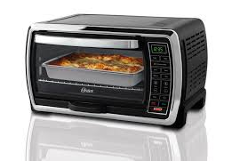 Oster Convection Toaster Oven With Broiler BlackStainless Steel by