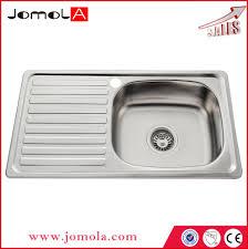 Kitchen Sink Capacity by Jomola High Capacity Single Bowl Kitchen Sink Jsb 7540 Buy Sink