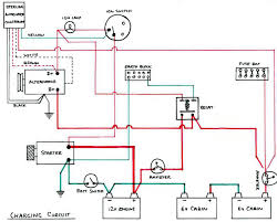 one wire alternator ammeter diagram easyist diagram wiring