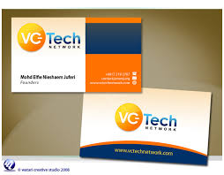 company cards visiting card design for a technology company best business