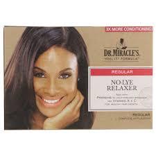 dr miracle hair dr miracle s no lye relaxer kit regular clicks
