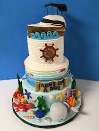 baby shower cake nautical themed kemp u0027s cakes pinterest