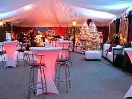 lighted tables av party rental
