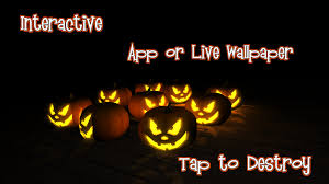creepy pumpkin live wallpaper android apps on google play