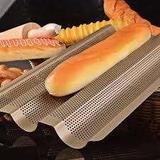plaque de cuisine nouveau baguette français plaque de cuisson or couleur