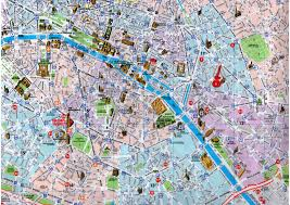 Paris Train And Metro Map by Map Of Paris Sights New Zone