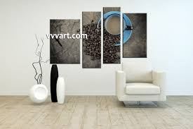 Living Room Art Canvas by 4 Piece Brown Canvas Coffee Kitchen Multi Panel Art