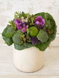 13 spring centerpieces filled with fruits and vegetables hgtv