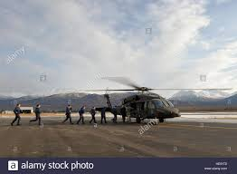 Alaska Fires Cooper Landing by An Alaska Army National Guard Uh 60 Black Hawk Helicopter From 1st