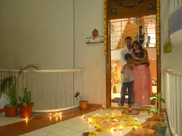 Diwali Decoration Ideas For Home Home Decoration On Diwali Home Decorations With Lotus And Rose