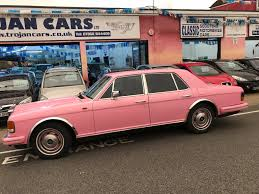 roll royce maroon used 1983 rolls royce silver spirit v8 for sale in southsea