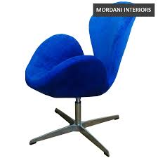 arne jacobsen royal blue swan chair replica