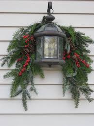 Outside Garage Lighting Ideas by Marvelous Appealing Christmas Wreaths Outdoor 69 About Remodel