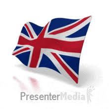 united kingdom flag a powerpoint template from presentermedia com