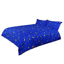 Duvet Cover Stars Amazon Com Uxcell Duvet Covers Moon Stars Lightweight Microfiber