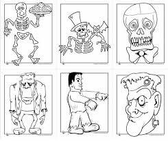 imagenes de halloween para imprimir y colorear dibujos de halloween para colorear e imprimir gratis pequeocio