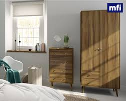 Walnut Bedroom Furniture Introducing The Mfi Collection Exclusively Available At