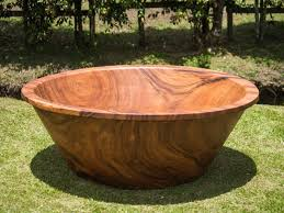Wood Bathtubs Wood Bathtubs By Timber Neutral Are Carved Out Of 3 Ton Tree Trunks