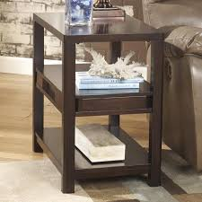 Signature Design By Ashley Templenz Contemporary Chairside End Table